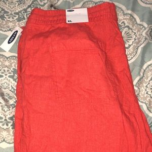 Old Navy NWT~ linen cropped pants